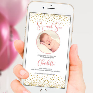 baby-girl-sip-and-see-evite-cellphone-template