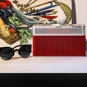 Bluetooth speaker with radio dab +