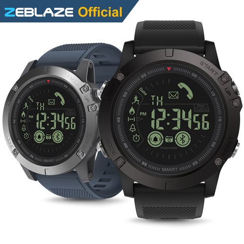 All Weather Monitoring Smart Watch with Bluetooth