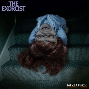 Coming soon from MEZCO TOYZ: Mega Scale Exorcist with Sound Feature