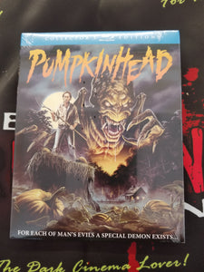 Pumpkinhead w/slipcover Blu-ray - The Crimson Screen Collectibles, horror movie collectibles, horror movie toys, horror movies, blu-rays, dvds, vhs, NECA Toys, Mezco Toyz, Pop!, Shout Factory, Scream Factory, Arrow Video, Severin Films, Horror t-shirts