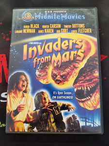 Invaders From Mars (Used; DVD) - The Crimson Screen Collectibles, horror movie collectibles, horror movie toys, horror movies, blu-rays, dvds, vhs, NECA Toys, Mezco Toyz, Pop!, Shout Factory, Scream Factory, Arrow Video, Severin Films, Horror t-shirts