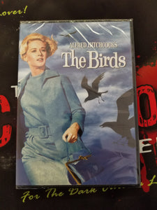 The Birds (DVD) - The Crimson Screen Collectibles, horror movie collectibles, horror movie toys, horror movies, blu-rays, dvds, vhs, NECA Toys, Mezco Toyz, Pop!, Shout Factory, Scream Factory, Arrow Video, Severin Films, Horror t-shirts