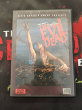The Evil Dead (Used; DVD) - The Crimson Screen Collectibles, horror movie collectibles, horror movie toys, horror movies, blu-rays, dvds, vhs, NECA Toys, Mezco Toyz, Pop!, Shout Factory, Scream Factory, Arrow Video, Severin Films, Horror t-shirts