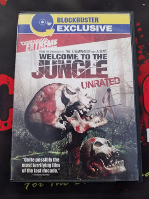Welcome To The Jungle (Used, DVD, OOP) - The Crimson Screen Collectibles