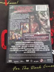 Welcome To The Jungle (Used, DVD, OOP) - The Crimson Screen Collectibles, horror movie collectibles, horror movie toys, horror movies, blu-rays, dvds, vhs, NECA Toys, Mezco Toyz, Pop!, Shout Factory, Scream Factory, Arrow Video, Severin Films, Horror t-shirts
