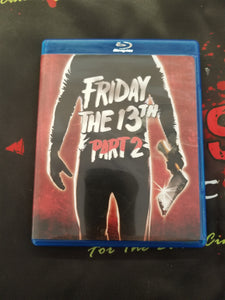 Friday the 13th: Part 2 (Used, Blu Ray) - The Crimson Screen Collectibles
