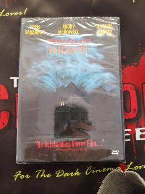 Fright Night (DVD; NEW) - The Crimson Screen Collectibles