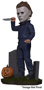 Halloween (2018) - Head Knocker - Michael Myers (PRE-ORDER) - The Crimson Screen Collectibles, horror movie collectibles, horror movie toys, horror movies, blu-rays, dvds, vhs, NECA Toys, Mezco Toyz, Pop!, Shout Factory, Scream Factory, Arrow Video, Severin Films, Horror t-shirts