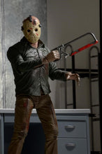 "Friday the 13th – 7"" Scale Action Figure – Ultimate Part 4 Jason (Has Box Damage) - The Crimson Screen Collectibles, horror movie collectibles, horror movie toys, horror movies, blu-rays, dvds, vhs, NECA Toys, Mezco Toyz, Pop!, Shout Factory, Scream Factory, Arrow Video, Severin Films, Horror t-shirts"