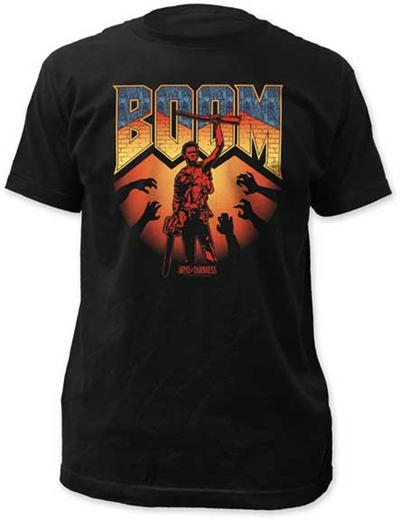 Army Of Darkness - BOOM - The Crimson Screen Collectibles, horror movie collectibles, horror movie toys, horror movies, blu-rays, dvds, vhs, NECA Toys, Mezco Toyz, Pop!, Shout Factory, Scream Factory, Arrow Video, Severin Films, Horror t-shirts