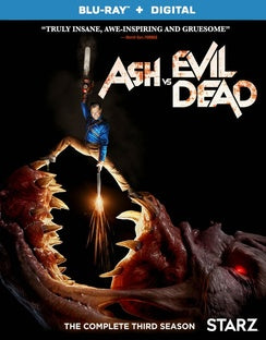 ASH VS EVIL DEAD-SEASON 3 (BLU RAY) (2DISCS) (ENG W/SPAN-SUB) - The Crimson Screen Collectibles, horror movie collectibles, horror movie toys, horror movies, blu-rays, dvds, vhs, NECA Toys, Mezco Toyz, Pop!, Shout Factory, Scream Factory, Arrow Video, Severin Films, Horror t-shirts