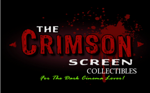 The Crimson Screen Collectibles (sticker) - The Crimson Screen Collectibles, horror movie collectibles, horror movie toys, horror movies, blu-rays, dvds, vhs, NECA Toys, Mezco Toyz, Pop!, Shout Factory, Scream Factory, Arrow Video, Severin Films, Horror t-shirts
