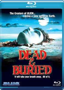 Dead & Buried (Blu-Ray Collector's Editon) - The Crimson Screen Collectibles, horror movie collectibles, horror movie toys, horror movies, blu-rays, dvds, vhs, NECA Toys, Mezco Toyz, Pop!, Shout Factory, Scream Factory, Arrow Video, Severin Films, Horror t-shirts