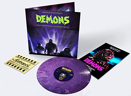 Demons Original Soundtrack (PRE-ORDER) - The Crimson Screen Collectibles, horror movie collectibles, horror movie toys, horror movies, blu-rays, dvds, vhs, NECA Toys, Mezco Toyz, Pop!, Shout Factory, Scream Factory, Arrow Video, Severin Films, Horror t-shirts