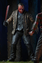 "Freddy vs Jason - 7"" Scale Action Figure - Ultimate Jason Voorhees IN STOCK - The Crimson Screen Collectibles, horror movie collectibles, horror movie toys, horror movies, blu-rays, dvds, vhs, NECA Toys, Mezco Toyz, Pop!, Shout Factory, Scream Factory, Arrow Video, Severin Films, Horror t-shirts"