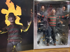 "Nightmare On Elm Street - 7"" Scale Action Figure - Ultimate Freddy Part 2"