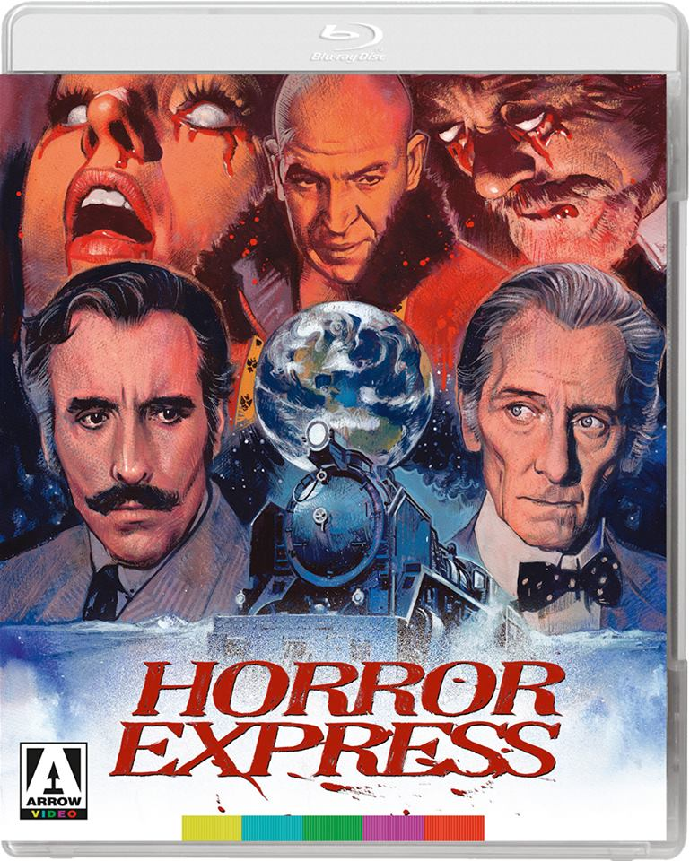 Horror Express (Collector's Edition Blu-Ray) - The Crimson Screen Collectibles, horror movie collectibles, horror movie toys, horror movies, blu-rays, dvds, vhs, NECA Toys, Mezco Toyz, Pop!, Shout Factory, Scream Factory, Arrow Video, Severin Films, Horror t-shirts