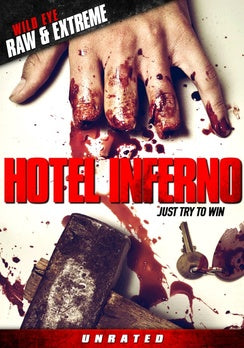 HOTEL INFERNO (SPLATTER PACK/DVD) - The Crimson Screen Collectibles, horror movie collectibles, horror movie toys, horror movies, blu-rays, dvds, vhs, NECA Toys, Mezco Toyz, Pop!, Shout Factory, Scream Factory, Arrow Video, Severin Films, Horror t-shirts
