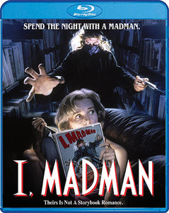 I, Madman (Blu-Ray) - The Crimson Screen Collectibles, horror movie collectibles, horror movie toys, horror movies, blu-rays, dvds, vhs, NECA Toys, Mezco Toyz, Pop!, Shout Factory, Scream Factory, Arrow Video, Severin Films, Horror t-shirts
