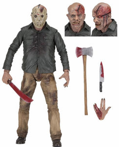 Friday the 13th - 1/4 Scale Action Figure - Part 4 Jason Vorrhees (PREORDER) - The Crimson Screen Collectibles, horror movie collectibles, horror movie toys, horror movies, blu-rays, dvds, vhs, NECA Toys, Mezco Toyz, Pop!, Shout Factory, Scream Factory, Arrow Video, Severin Films, Horror t-shirts