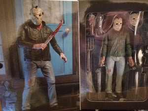 "Friday the 13th - 7"" Scale Action Figure - Ultimate Jason Part 3 (has minor box damage) - The Crimson Screen Collectibles, horror movie collectibles, horror movie toys, horror movies, blu-rays, dvds, vhs, NECA Toys, Mezco Toyz, Pop!, Shout Factory, Scream Factory, Arrow Video, Severin Films, Horror t-shirts"