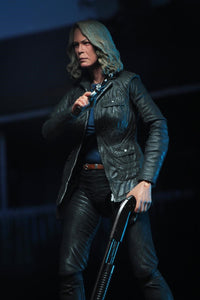 "Halloween (2018) - 7"" Scale Action Figure - Ultimate Laurie Strode (IN STOCK) BOX DAMAGE - The Crimson Screen Collectibles, horror movie collectibles, horror movie toys, horror movies, blu-rays, dvds, vhs, NECA Toys, Mezco Toyz, Pop!, Shout Factory, Scream Factory, Arrow Video, Severin Films, Horror t-shirts"
