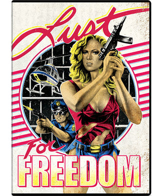 Lust For Freedom (DVD) - The Crimson Screen Collectibles, horror movie collectibles, horror movie toys, horror movies, blu-rays, dvds, vhs, NECA Toys, Mezco Toyz, Pop!, Shout Factory, Scream Factory, Arrow Video, Severin Films, Horror t-shirts