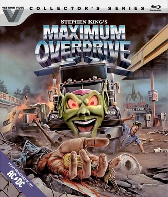 Maximum Overdrive (Vestron Collector's Series #17) - The Crimson Screen Collectibles, horror movie collectibles, horror movie toys, horror movies, blu-rays, dvds, vhs, NECA Toys, Mezco Toyz, Pop!, Shout Factory, Scream Factory, Arrow Video, Severin Films, Horror t-shirts