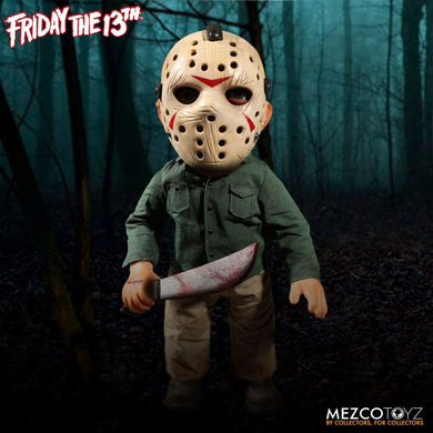 Friday the 13th: Mega Jason Vorrhees (IN STOCK NOW) BOX DAMAGE/NO SOUND - The Crimson Screen Collectibles, horror movie collectibles, horror movie toys, horror movies, blu-rays, dvds, vhs, NECA Toys, Mezco Toyz, Pop!, Shout Factory, Scream Factory, Arrow Video, Severin Films, Horror t-shirts