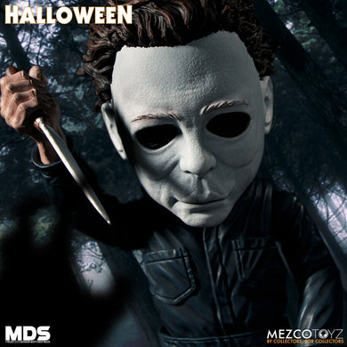Halloween (1978): Michael Myers - The Crimson Screen Collectibles, horror movie collectibles, horror movie toys, horror movies, blu-rays, dvds, vhs, NECA Toys, Mezco Toyz, Pop!, Shout Factory, Scream Factory, Arrow Video, Severin Films, Horror t-shirts