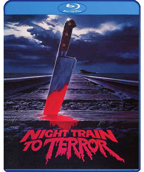 Night Train To Teror (Blu-Ray) - The Crimson Screen Collectibles, horror movie collectibles, horror movie toys, horror movies, blu-rays, dvds, vhs, NECA Toys, Mezco Toyz, Pop!, Shout Factory, Scream Factory, Arrow Video, Severin Films, Horror t-shirts