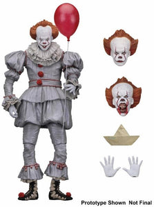 "IT - 7"" Scale Action Figure - Ultimate Pennywise (2017 Film)"
