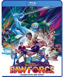 Raw Force (Blu-Ray) - The Crimson Screen Collectibles