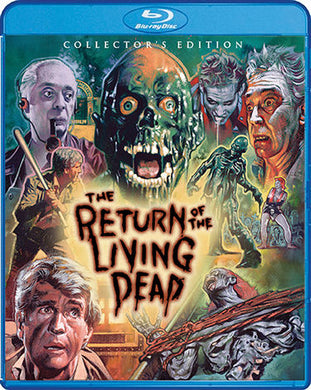 The Return of the Living Dead (Collector's Edition) - The Crimson Screen Collectibles, horror movie collectibles, horror movie toys, horror movies, blu-rays, dvds, vhs, NECA Toys, Mezco Toyz, Pop!, Shout Factory, Scream Factory, Arrow Video, Severin Films, Horror t-shirts