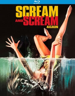 SCREAM & SCREAM AGAIN-SPECIAL EDITION (BLU-RAY/1970/WS 1.85) - The Crimson Screen Collectibles, horror movie collectibles, horror movie toys, horror movies, blu-rays, dvds, vhs, NECA Toys, Mezco Toyz, Pop!, Shout Factory, Scream Factory, Arrow Video, Severin Films, Horror t-shirts