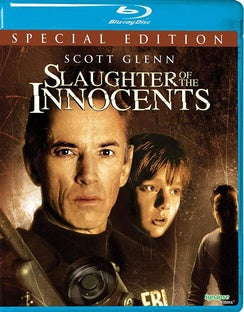SLAUGHTER OF THE INNOCENTS (BR) - The Crimson Screen Collectibles, horror movie collectibles, horror movie toys, horror movies, blu-rays, dvds, vhs, NECA Toys, Mezco Toyz, Pop!, Shout Factory, Scream Factory, Arrow Video, Severin Films, Horror t-shirts