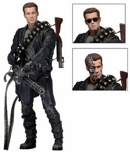 "Terminator 2 - 7"" Scale Action Figure - Ultimate T-800 (IN STOCK) - The Crimson Screen Collectibles, horror movie collectibles, horror movie toys, horror movies, blu-rays, dvds, vhs, NECA Toys, Mezco Toyz, Pop!, Shout Factory, Scream Factory, Arrow Video, Severin Films, Horror t-shirts"