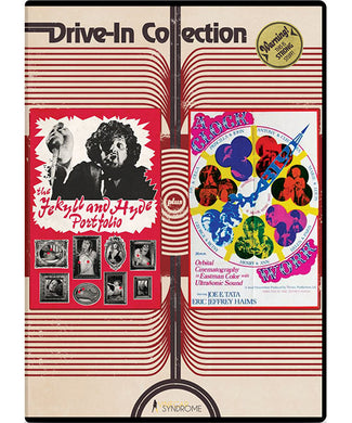 Drive-in Collection: The Jekyll & Hyde Portfolio/ A Clockwork Blue (DVD) - The Crimson Screen Collectibles