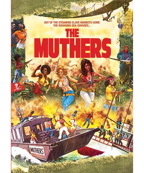 The Muthers (DVD) - The Crimson Screen Collectibles, horror movie collectibles, horror movie toys, horror movies, blu-rays, dvds, vhs, NECA Toys, Mezco Toyz, Pop!, Shout Factory, Scream Factory, Arrow Video, Severin Films, Horror t-shirts