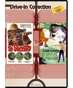 Drive-in Collection: The Suckers/ The Love Garden (DVD) - The Crimson Screen Collectibles, horror movie collectibles, horror movie toys, horror movies, blu-rays, dvds, vhs, NECA Toys, Mezco Toyz, Pop!, Shout Factory, Scream Factory, Arrow Video, Severin Films, Horror t-shirts