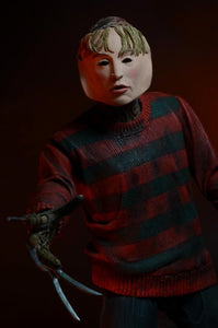 "Nightmare on Elm Street - 7"" Action Figure - Ultimate Freddy - The Crimson Screen Collectibles, horror movie collectibles, horror movie toys, horror movies, blu-rays, dvds, vhs, NECA Toys, Mezco Toyz, Pop!, Shout Factory, Scream Factory, Arrow Video, Severin Films, Horror t-shirts"