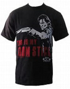 Army Of Darkness - This is my BOOM STICK - The Crimson Screen Collectibles, horror movie collectibles, horror movie toys, horror movies, blu-rays, dvds, vhs, NECA Toys, Mezco Toyz, Pop!, Shout Factory, Scream Factory, Arrow Video, Severin Films, Horror t-shirts