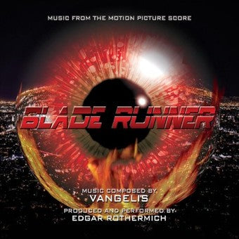 Blade Runner original Soundtrack  (IN STOCK) - The Crimson Screen Collectibles, horror movie collectibles, horror movie toys, horror movies, blu-rays, dvds, vhs, NECA Toys, Mezco Toyz, Pop!, Shout Factory, Scream Factory, Arrow Video, Severin Films, Horror t-shirts