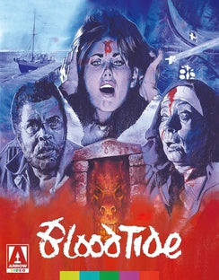 BLOOD TIDE (BLU-RAY) - The Crimson Screen Collectibles, horror movie collectibles, horror movie toys, horror movies, blu-rays, dvds, vhs, NECA Toys, Mezco Toyz, Pop!, Shout Factory, Scream Factory, Arrow Video, Severin Films, Horror t-shirts