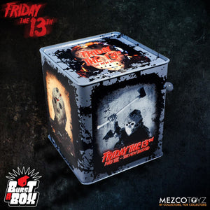 Friday The 13th Part VII: Jason Voorhees BURST A BOX (IN STOCK) - The Crimson Screen Collectibles, horror movie collectibles, horror movie toys, horror movies, blu-rays, dvds, vhs, NECA Toys, Mezco Toyz, Pop!, Shout Factory, Scream Factory, Arrow Video, Severin Films, Horror t-shirts