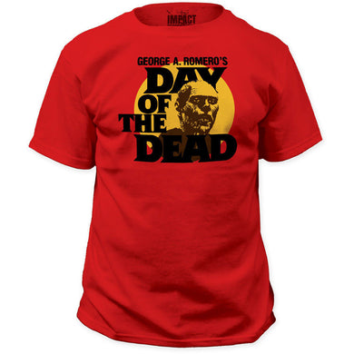 Day of the Dead (Red) - The Crimson Screen Collectibles, horror movie collectibles, horror movie toys, horror movies, blu-rays, dvds, vhs, NECA Toys, Mezco Toyz, Pop!, Shout Factory, Scream Factory, Arrow Video, Severin Films, Horror t-shirts
