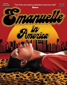 EMANUELLE IN AMERICA (BLU-RAY) - The Crimson Screen Collectibles, horror movie collectibles, horror movie toys, horror movies, blu-rays, dvds, vhs, NECA Toys, Mezco Toyz, Pop!, Shout Factory, Scream Factory, Arrow Video, Severin Films, Horror t-shirts
