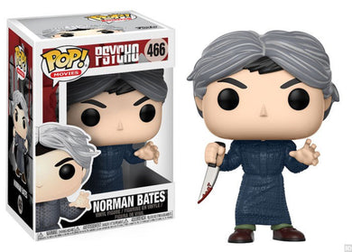 Pop! Horror Vinyl Figure: Norman Bates (Psycho) - The Crimson Screen Collectibles, horror movie collectibles, horror movie toys, horror movies, blu-rays, dvds, vhs, NECA Toys, Mezco Toyz, Pop!, Shout Factory, Scream Factory, Arrow Video, Severin Films, Horror t-shirts