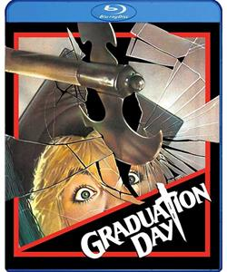 Graduation Day (Blu-Ray) - The Crimson Screen Collectibles, horror movie collectibles, horror movie toys, horror movies, blu-rays, dvds, vhs, NECA Toys, Mezco Toyz, Pop!, Shout Factory, Scream Factory, Arrow Video, Severin Films, Horror t-shirts
